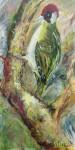GrünspechtAcryl auf Leinwandunverkäuflich