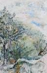 BirkenAcryl auf LeinwandGröße: 115x75cm