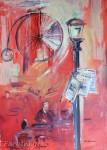 Roter SalonAcryl auf LeinwandGröße: 70x100cm