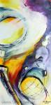 Künstliches Licht - Lichtvolle Kunst 2Acryl auf Leinwand Größe: 50x100