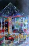 Lichter der KindheitAcryl auf Leinwand Größe: 65x116