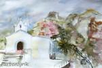La DamaAquarell auf PapierGröße 38x56