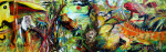 Im DschungelAcryl auf Leinwand40x120