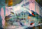 SchwanAcryl auf Leinwand70x100