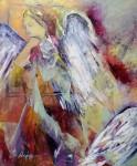 Engel des FriedensAcryl auf LeinwandGröße 50 x 60 cm