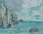 SteilküsteAcryl auf LeinwandGröße: 80x100
